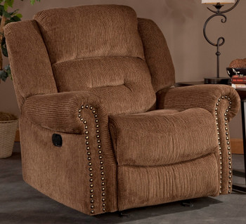Binford Brown Recliner