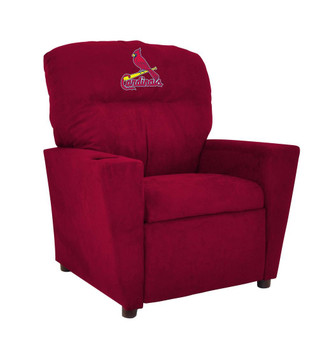 St. Louis Cardinals Microfiber Kids Recliner