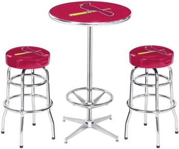 St. Louis Cardinals Heavy-Duty 3 Piece Pub Set