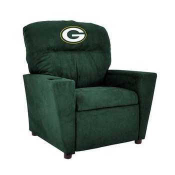 Green Bay Packers Microfiber Kids Recliner