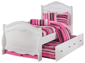 Marie Sleigh Bedroom Set with Trundle