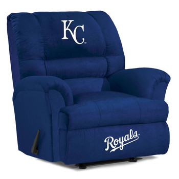 Kansas City Royals Blue Microfiber Big Boy Recliner