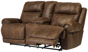 Frederick Brown Reclining Loveseat