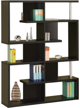 Courier Black Bookshelf
