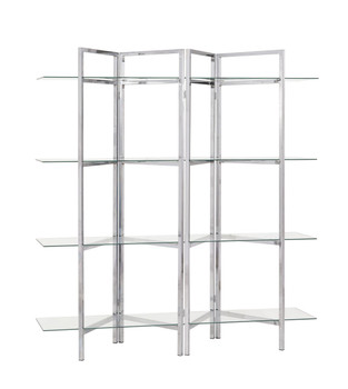Kif 4 Shelves Metal Bookcase