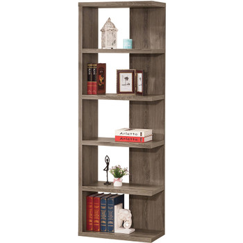 Emas Gray Bookcase