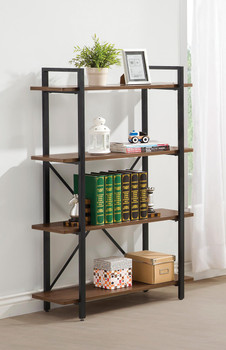 Dane Light Brown Bookcase