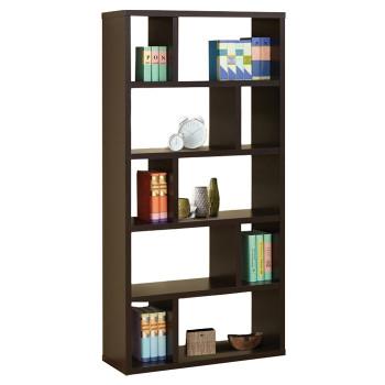 Lancel Cappuccino Bookcase