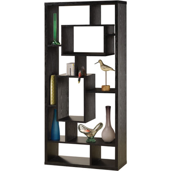 Oki Black Bookcase