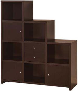 Lanton Cappuccino Bookcase