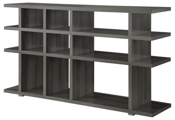 Apoch Gray Bookcase