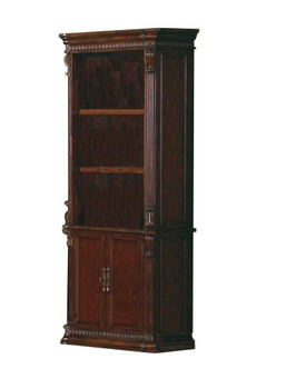 Brayden Rich Brown Bookcase