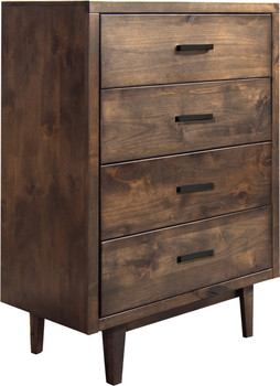 Cody Aged Brown 4 Drawer Chest