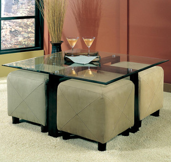 Greer Glass Coffee Table