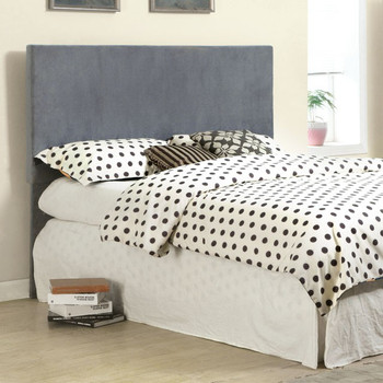 Cara Gray Fabric Full & Queen Headboard