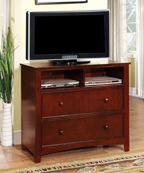 Connie Valden Cherry Media Chest