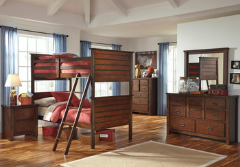 Louisville Bunk Bedroom Set