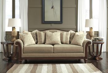 Cecily Beige Sofa
