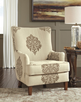 Cecily High Back Accent Chair