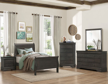 Jed Gray Bedroom Set