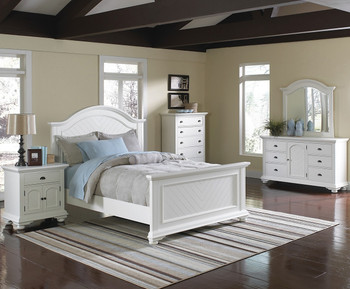 Celma White Bedroom Set