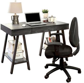 Armani Grey Computer Desk