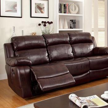 Bristol Dark Brown Motion Sofa