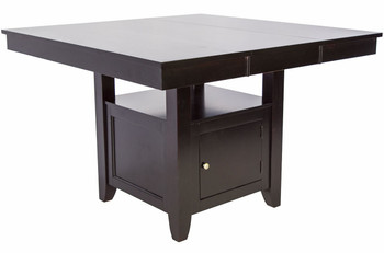 Lenox Black Brown Counter Table