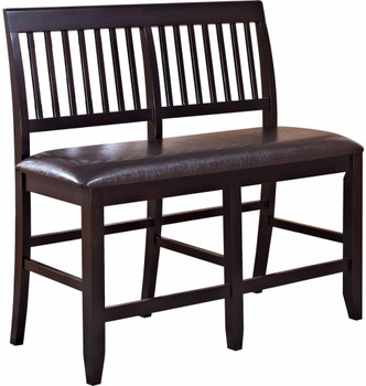 Lenox Black Brown Bench