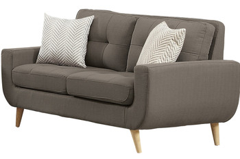 Jacky Gray Loveseat