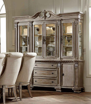 Cassian White Buffet and Hutch