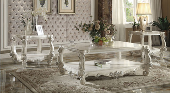 Chapelhill White 3 Piece Table Set