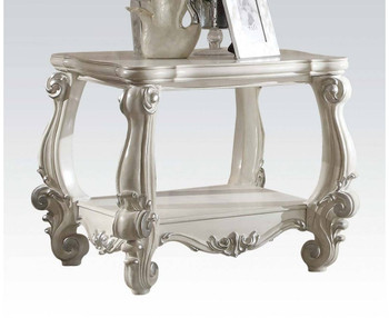 Chapelhill White End Table