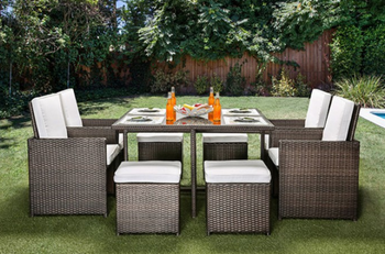 Jason 9-PC Patio Dining Set