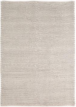 Handwoven Gray 5' x 8' Rug