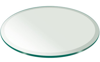 """Capell 36"""" Glass Top"""