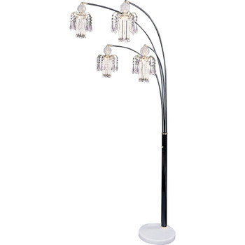 Glass Floor Lamp With Dimmer Switch