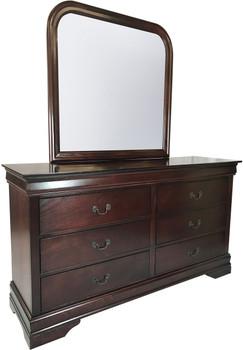 Lafayette Cherry Dresser & Mirror