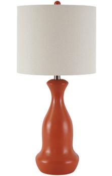 "Ambit Orange 26""H Table Lamp"