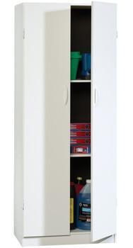 Origins White Storage Cabinet