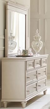 Ariella Pearl Dresser & Mirror