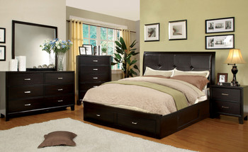 Artemi Espresso Bedroom Set