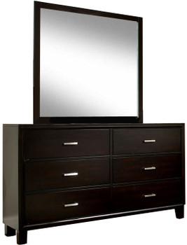 Artemi Espresso Dresser & Mirror