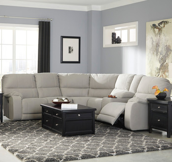 Desster Putty Reclining Sectional