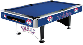 Texas Rangers 8-FT Pool Table