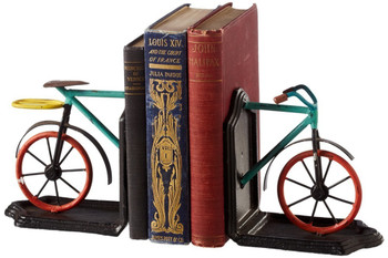Bicycle Bookend Pair