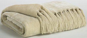 Delia Cream Decorative Throw