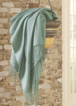 Vale Blue Decorative Throw