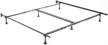 Keystone Queen, King, and California King Bed Frame with Glides