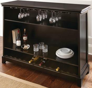 Avi Black Bar Table